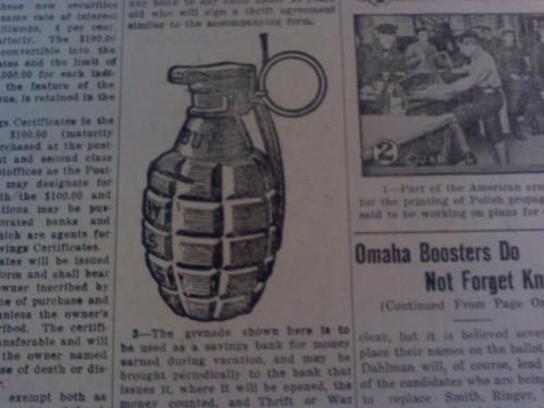hand grenade